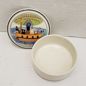 Villeroy & Boch Naif Dish Jewelry Trinket Box